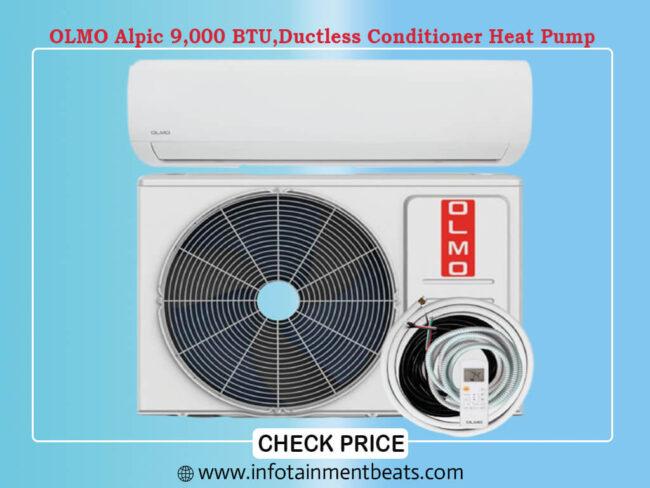 OLMO Alpic 9,000 BTU, Air Conditioner Heat Pump
