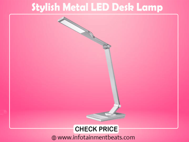 8.Stylish Metal LED Desk Lamp