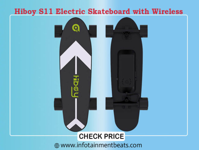 Hiboy S11 Electric Skateboard with Wireless