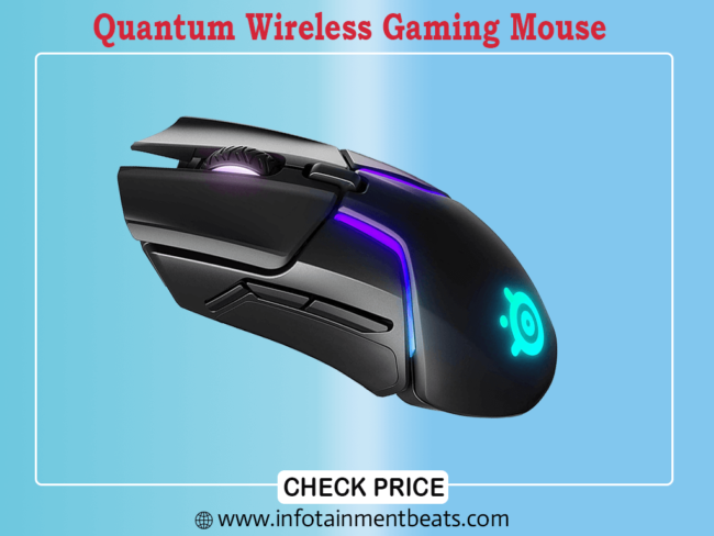 Quantum Wireless Gaming Mouse