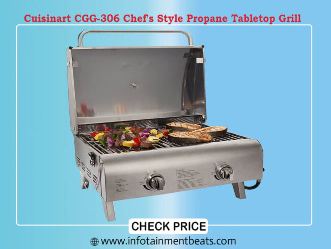 Chef Style Propane Tabletop Grill