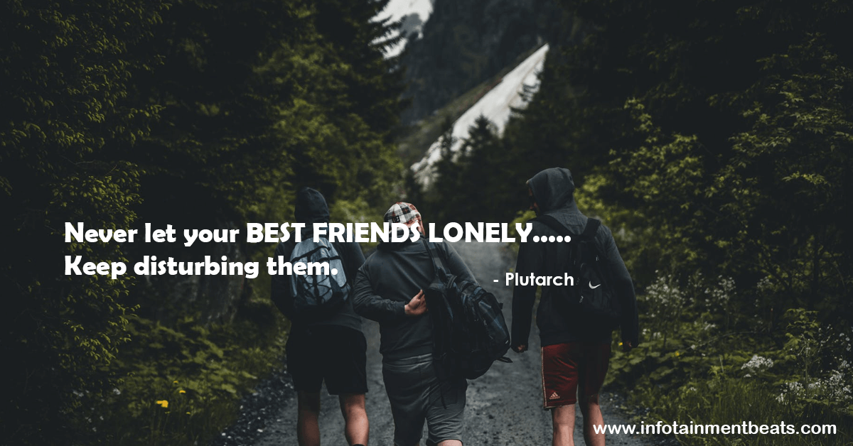 Friendship quote by plutarch