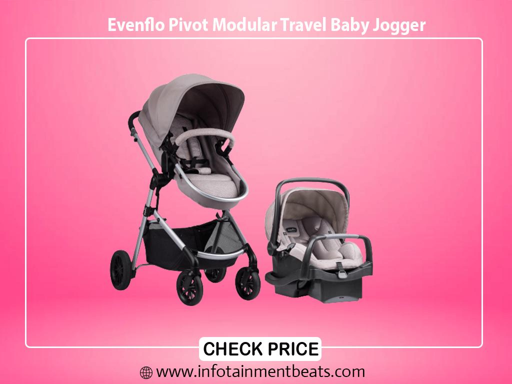 Evenflo Pivot Modular Travel Baby Jogger