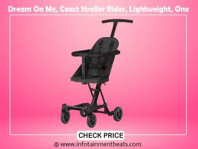 Dream On Me, Coast Stroller Rider, Lightweight, One