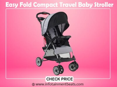 Easy Fold Compact Travel Baby Stroller
