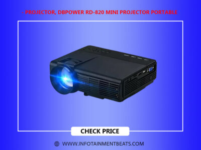 Projector DBPOWER RD 820 Mini Projector Portable