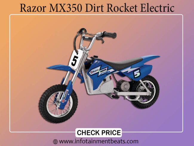 Razor MX350 Dirt Rocket Electric Off Road Bike For 13 Aged Kids