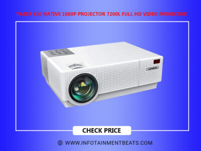 YABER Y30 Native 1080P Projector 7200L Full HD Video Projector