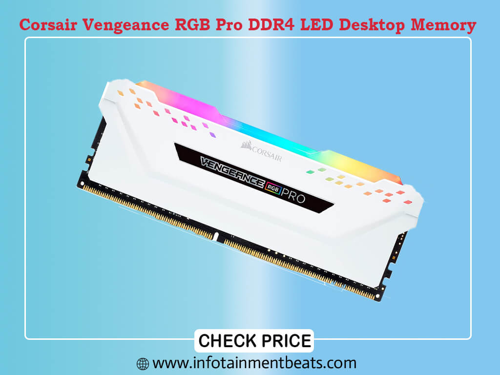 Corsair Vengeance RGB Pro 16GB (2x8GB) DDR4 3200MHz C16 LED Desktop Memory