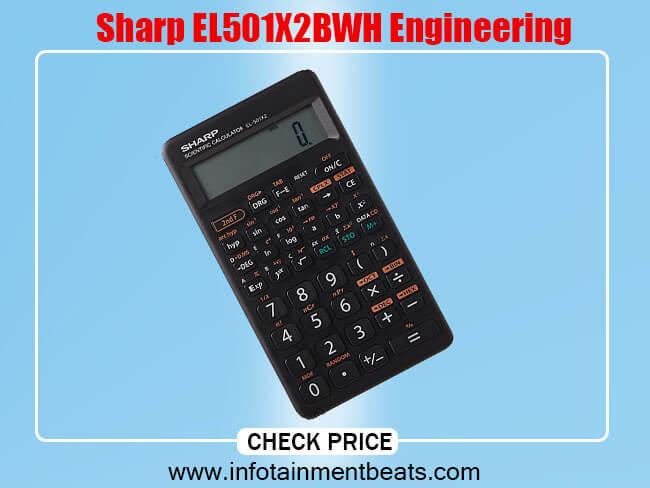 Sharp EL501X2BWH Engineering