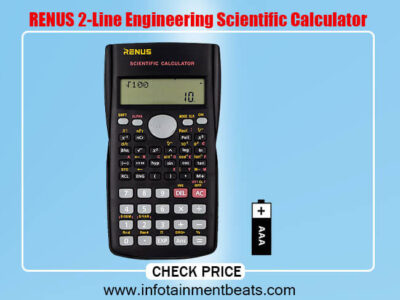 RENUS 2-Line Engineering Scientific Calculator