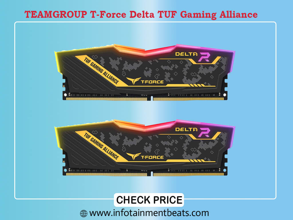 TEAMGROUP T-Force Delta TUF Gaming Alliance RGB DDR4 32GB