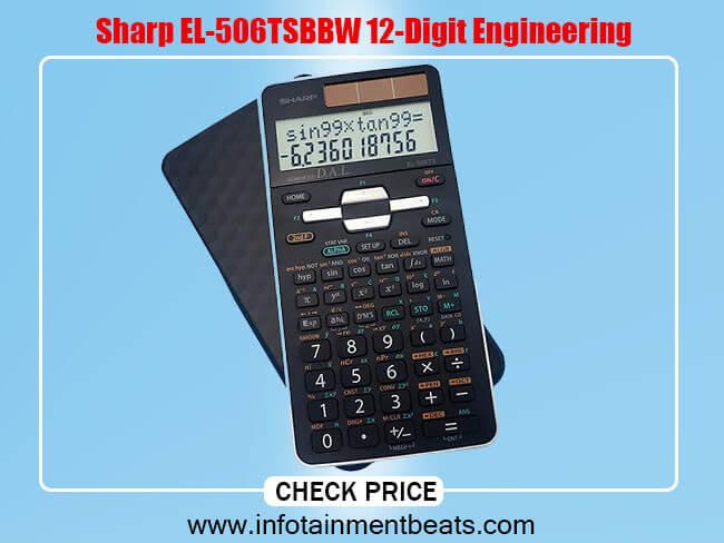 Sharp EL-506TSBBW 12-Digit Engineering