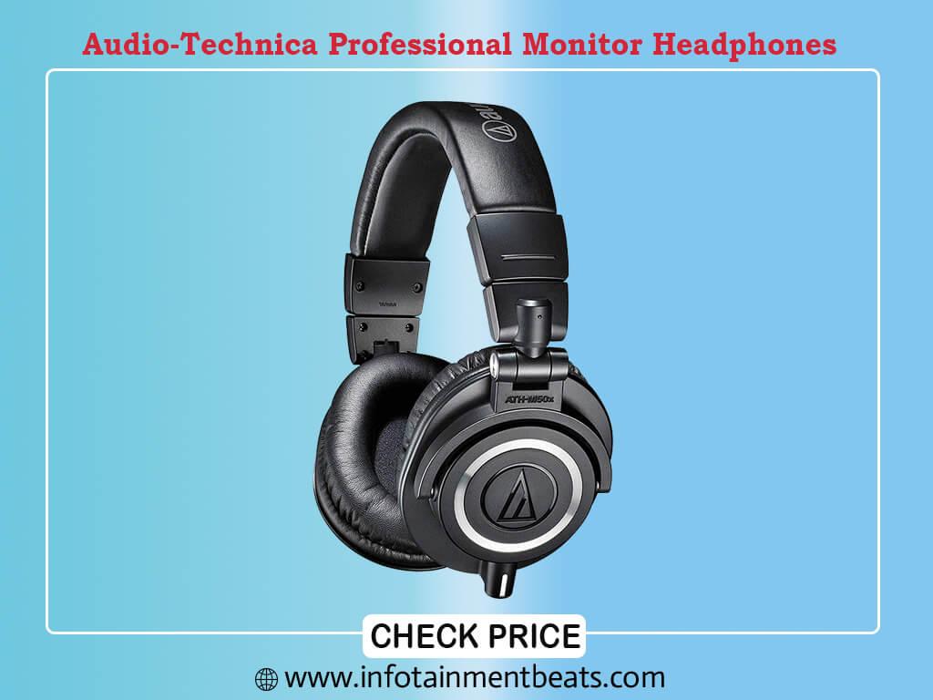Audio-Technica ATH-M50XGM Professional Monitor Headphones, Gun Metal