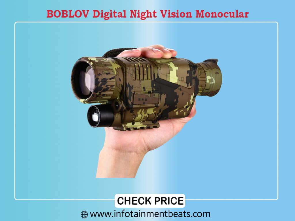 BOBLOV Digital Night Vision Monocular