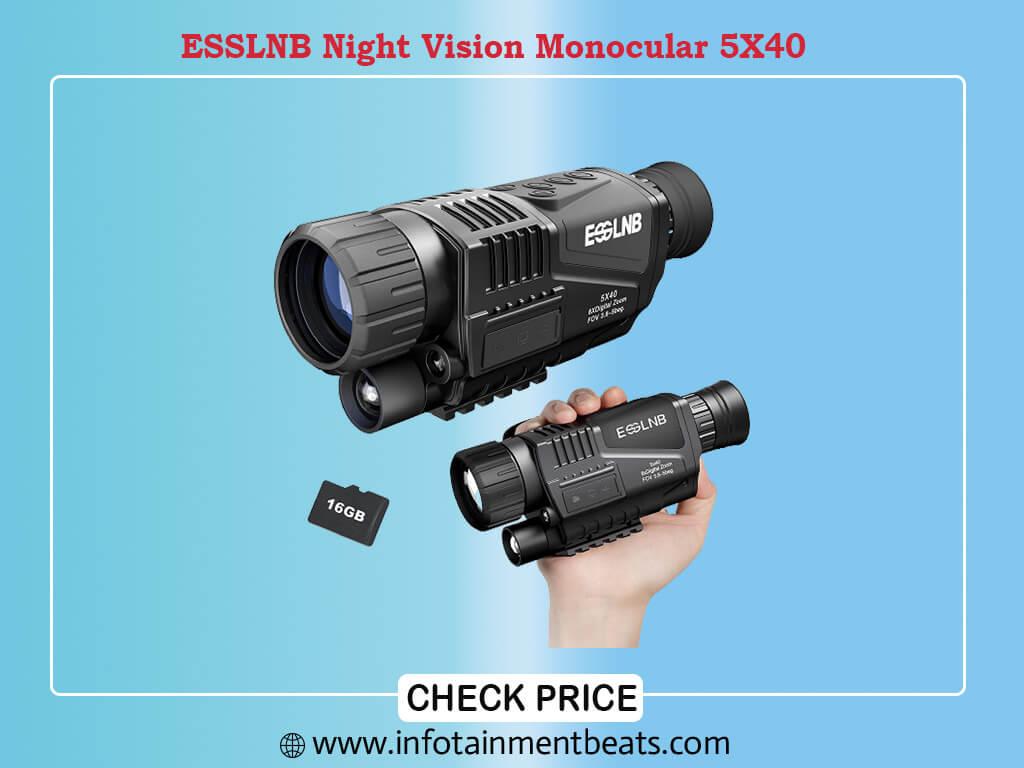 ESSLNB Night Vision Monocular 5X40