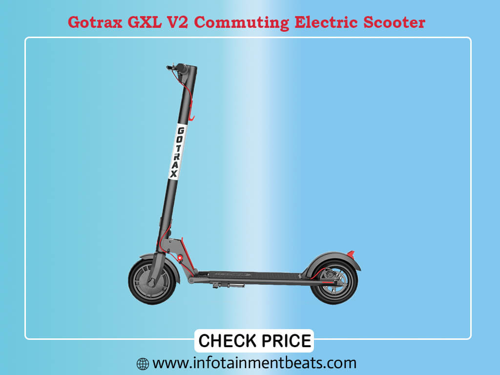 Gotrax GXL V2 Commuting Electric Scooter 8,5 Air Filled Tires