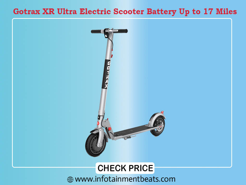 Gotrax XR Ultra Electric Scooter, 36V 7.0AH Battery Up to 17 Miles