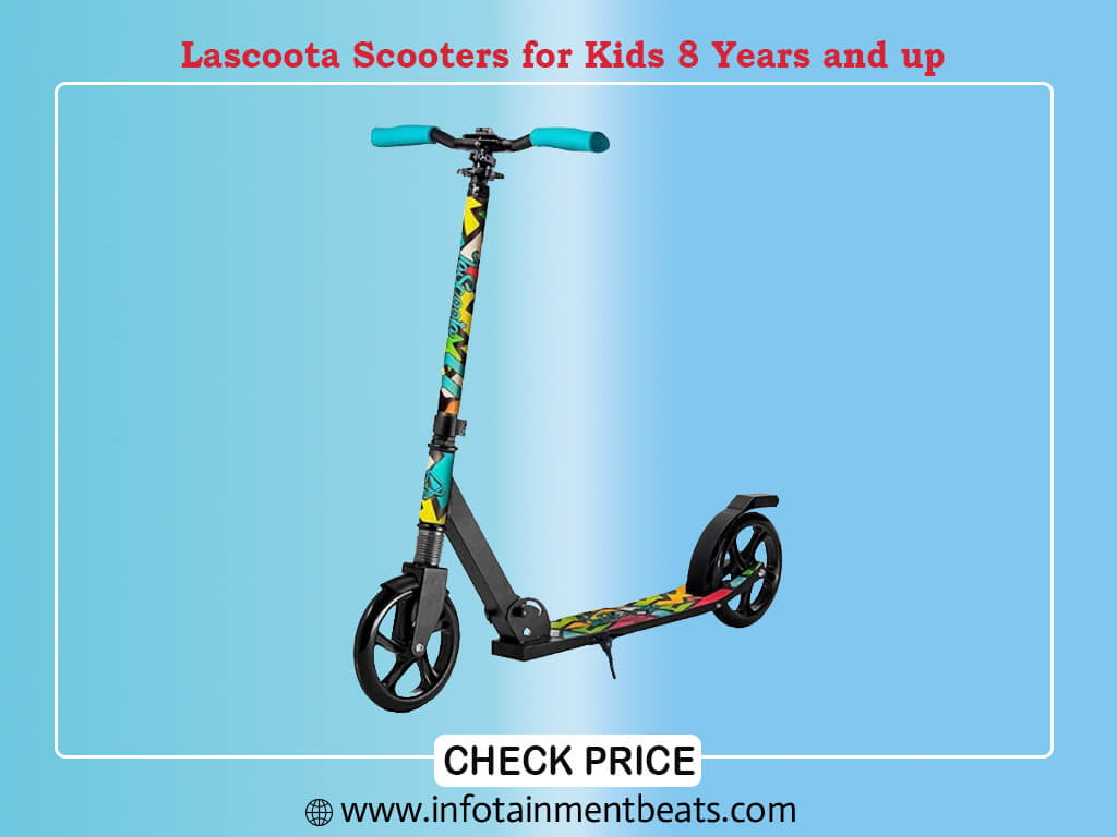 Lascoota Scooters for Kids 8 Years and up