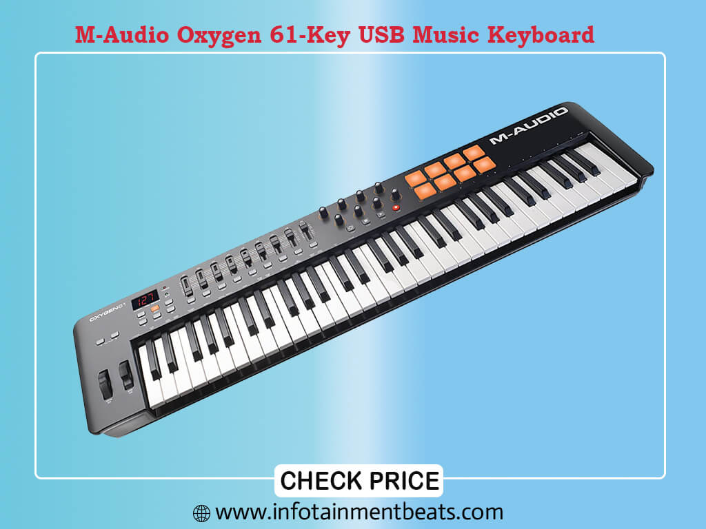 M-Audio Oxygen 61 IV | 61-Key USB/MIDI Keyboard