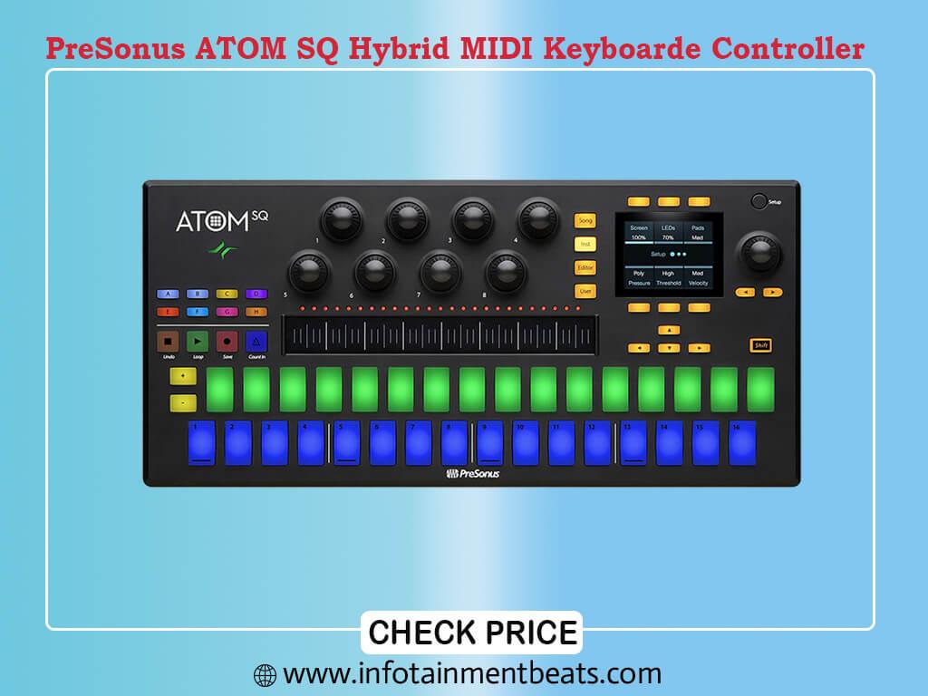 PreSonus ATOM SQ Hybrid MIDI Keyboard