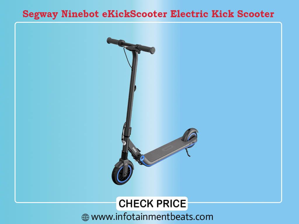 Segway Ninebot eKickScooter ZING E8 and E10, Electric Kick Scooter