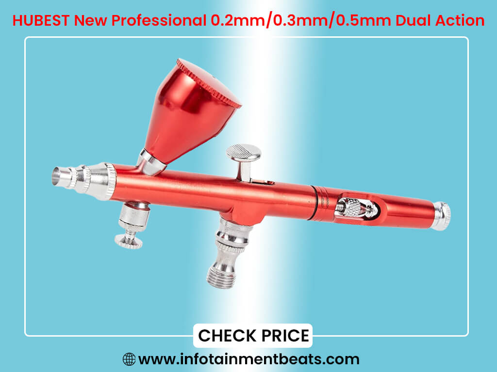 HUBEST New Professional 0.2mm 0.3mm 0.5mm Dual Action