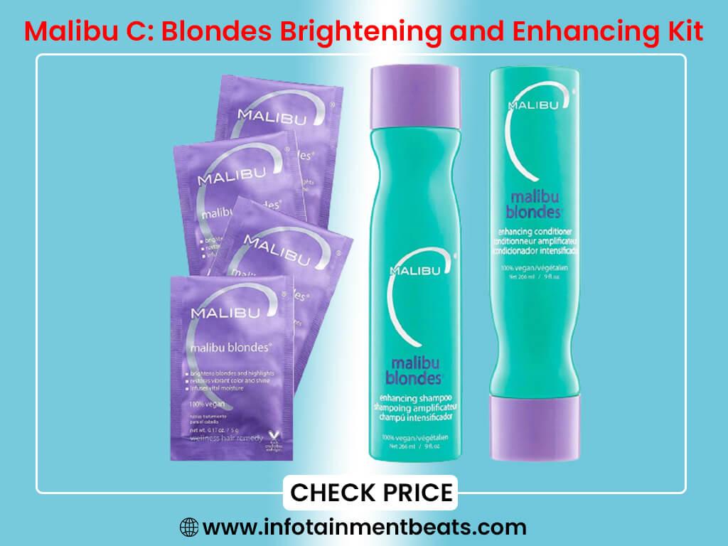 Malibu C Blondes Brightening and Enhancing Kit