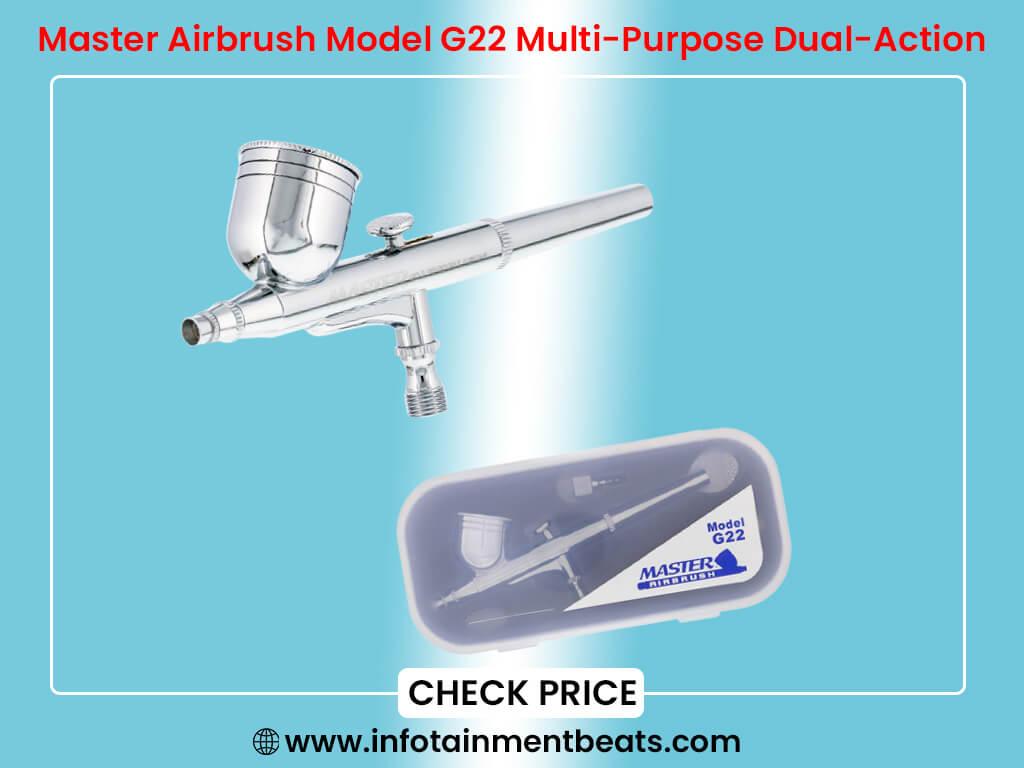Master Airbrush Model G22 Multi-Purpose Dual-Action