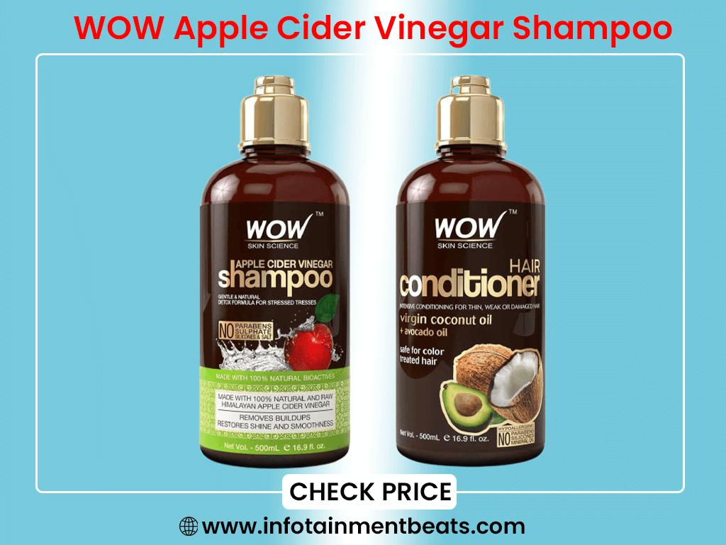 WOW Apple Cider Vinegar Shampoo and Hair Conditioner