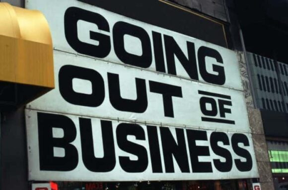 reasons for Small Businesses closing down